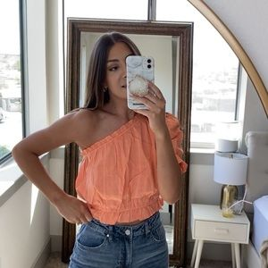 NWT One Shoulder Top
